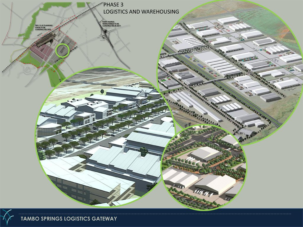 Tambo Springs Urban Edge Phase 2 - Logistics and warehousing